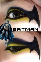 Batman Makeup by Steffmiesterx13