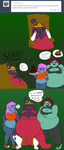 Ask gir 4 :force feeding by CrimsonLantern11