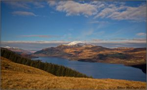 Ben Lomond from Beinn Dubh by Rebacan