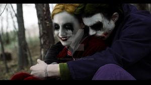 Joker and Harley-Early Years? by heatona