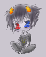 Chibi Sollux by Neloren
