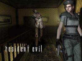Zombie Behind by Jill-Valentine666