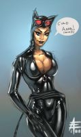 Catwoman sketch by xavor85
