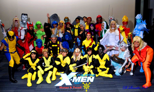 The Philippine X-MEN Team by micheljosephfris