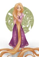 Disney: Rapunzel by Angels-Leaf