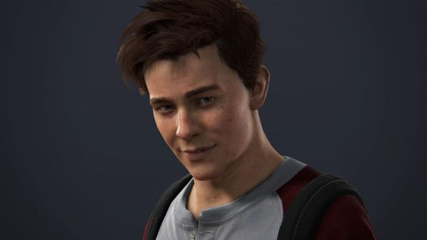 Uncharted 4 - Young Sam by Fonzzz002