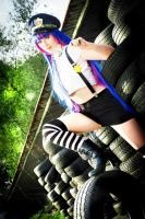 Stocking Anarchy Cosplay [Police Verison] by HaruStrawberry