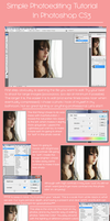 Simple Photo Editing Tutorial (Photoshop) by CaramelCaprice