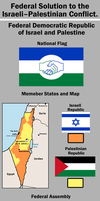The Federal State Solution by Party9999999