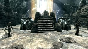 The Frozen Throne Meets Skyrim by kordulus