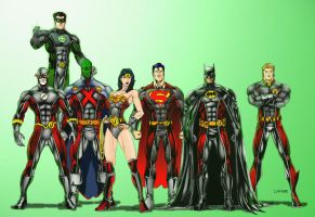 Justice League by lorkalt