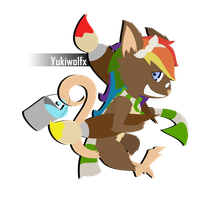 [AT] Yukiwolfx - A Tiny, Tiny, Clever Commander! by StoopidGoat