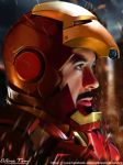 I AM IRONMAN. by spidermonkey23