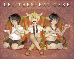 LET THEM EAT CAKE by alpacasovereign