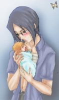 Uryu and baby love by ILITIAFOREVER