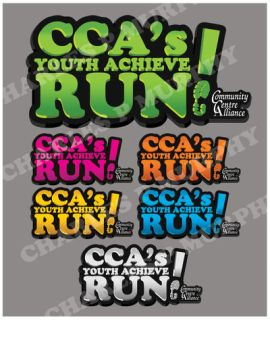 CCA's Youth Achieve Run logo by ChuckMurphy