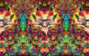 Psychedelic Trip Wallpaper by NNton