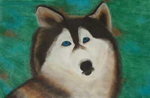 Mother Wolf - Chalk Pastel by SwanofWar