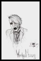 Marilyn Manson Again by LuBobIII