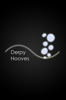 Derpy Hooves Glow Line iPod/iPhone Wallpaper by AlphaMuppet
