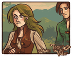 Lost in the Vale - Chapter 1 - Pages 9 - 10 UP! by CrystalCurtis