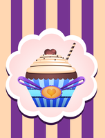 Cup Cakes : Choco Loveur by Citronade-Arts
