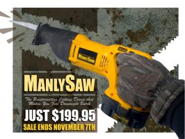 Manly Saw - Edited by CliffEngland