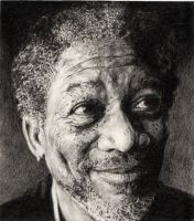 Morgan Freeman by immith