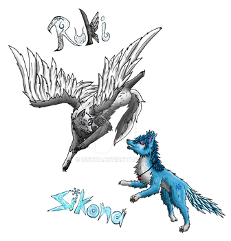 Sikona and Ruki Gamescom project by Issura