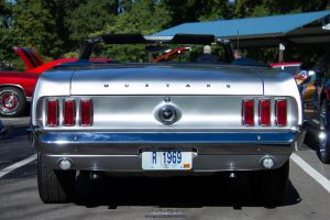 '69 Ford Mustang - ButtShot by joerayphoto