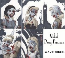 Undead Disney Princesses -Wave Three- by WizardOfAuz
