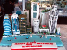 2009 National Day Cake by Sliceofcake