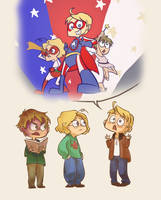 The Epic Tale of Super America by avatarmirai