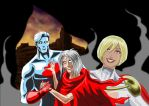 Captain Atom and Power Girl - Generation Lost by adamantis