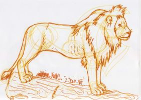 Sketch by wolf-lion