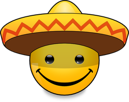 Hats of the World: Sombrero (svg) by mondspeer