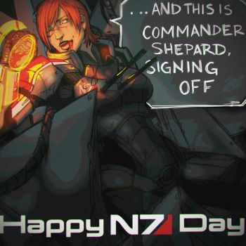 Happy N7 Day by xLuneNoire