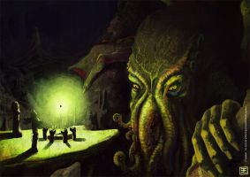 Cthulhu rises by Syrphin