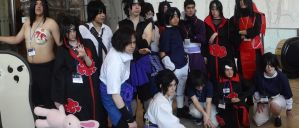 The Uchiha Clan- Anime Boston 2014 by BloodKaika