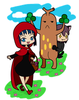PT: Little Red Riding Hood by L-mon
