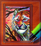 ACEO Commission Example by RussianBlues