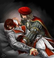 Leo and Ezio by hyunhon