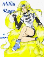 millia rage colored yarr by zefoxe