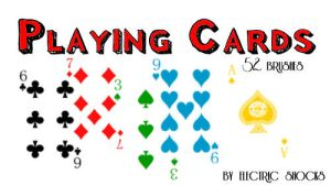 Playing Cards by electric-shocks