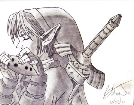 Link - Ocarina of Time by BadassSheik92