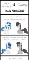 Vinyl Scratch and Octavia Trade Accessories by LumenGlace