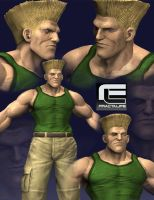 WIP Guile sculpting 2 by fractalife