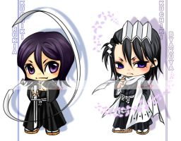 bleach chibis by exwhy