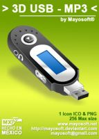 3D USB - MP3 by Mayosoft