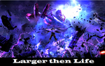 UMvC3 poster: Larger then Life by huyh
